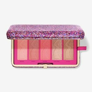 TARTE LIFE OF THE PARTY CLAY BLUSH PALETTE&CLUTCH